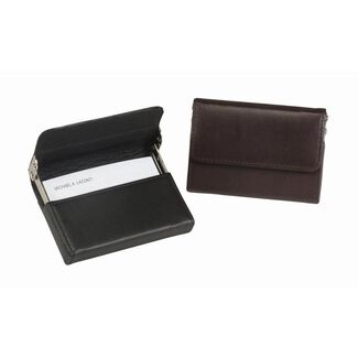 Personalized Royce Leather Horizontal Framed Card Case